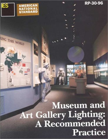 9780879951320: Museum and Art Gallery Lighting : A Recommended Practice