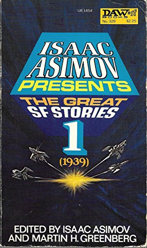 9780879974541: The Great Science Fiction Stories, Vol. 1, 1939