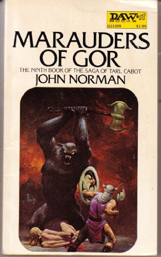Marauders of Gor (0879976764) by John Norman