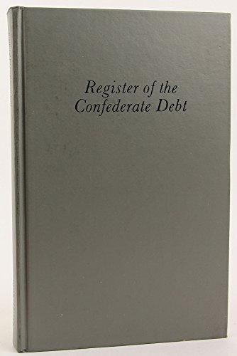 Register of the Confederate Debt: Raphael P Thian