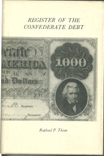 ISBN 9780880000024 product image for Register of the Confederate Debt | upcitemdb.com