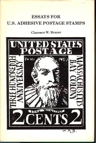Essays for U.S. adhesive postage stamps: Brazer, Clarence W