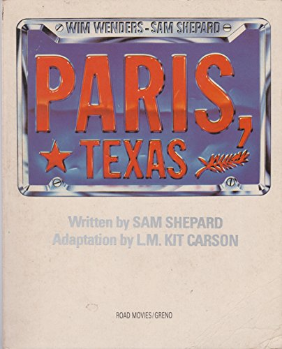 9780880010771: Paris, Texas