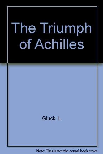 9780880010825: The Triumph of Achilles