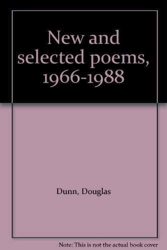 9780880011785: New and selected poems, 1966-1988
