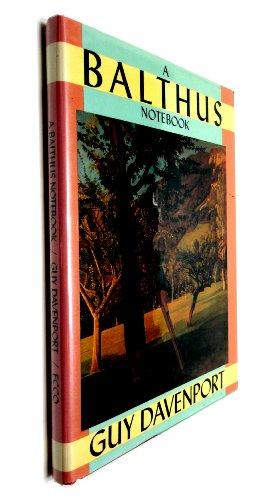 9780880012348: A Balthus Notebook