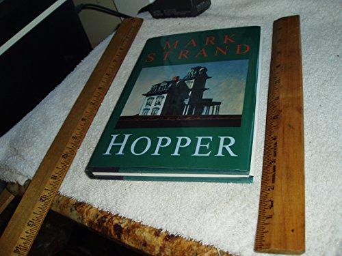 Hopper (Writers on Art Series): Mark Strand