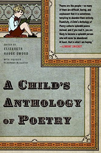 9780880013789: A Child's Anthology of Poetry