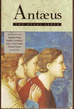 Antaeus: The Final Issue: Halpern, Daniel