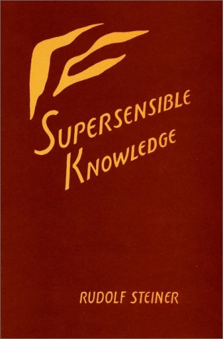 9780880101905: Supersensible Knowledge: (CW 55)