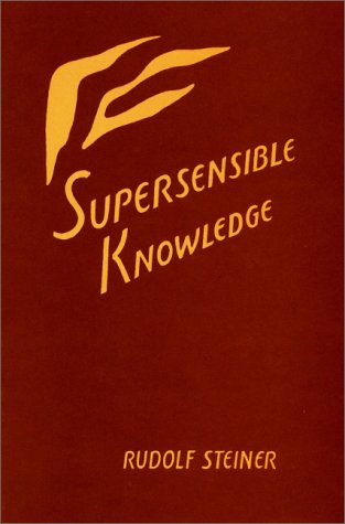 9780880101912: Supersensible Knowledge