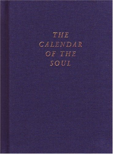 9780880102636: The Calendar of the Soul: (CW 40)