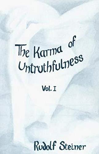 The Karma of Untruthfulness (Volume 1): Steiner, Rudolf