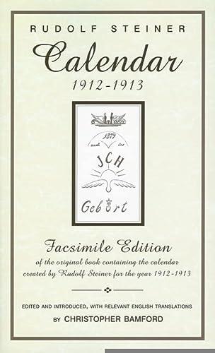 9780880105347: Calendar 1912–1913