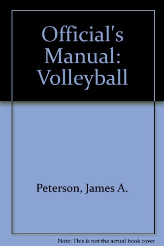 9780880110785: Official's Manual: Volleyball (Officials Man Volleybal 2ed PR*)