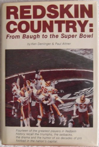 9780880111911: Redskin Country: From Baugh to the Super Bowl