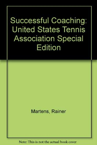 9780880114066: Successful Coaching: United States Tennis Association Special Edition