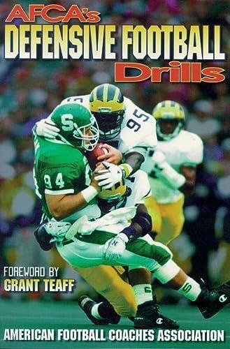 9780880114769: AFCA's Defensive Football Drills