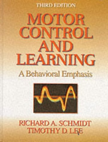 9780880114844: Motor Control & Learning: A Behavioral Emphasis