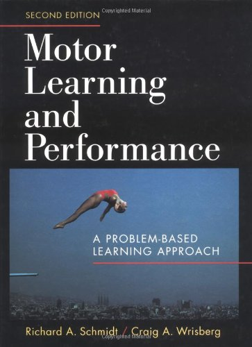 9780880115001: Motor Learning and Performance
