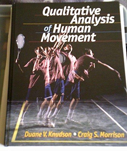 9780880115230: Qualitative Analysis of Human Movement