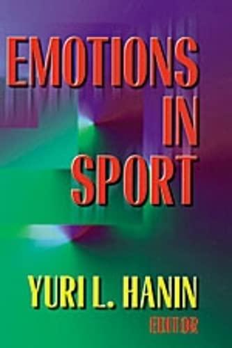 9780880118798: Emotions in Sport