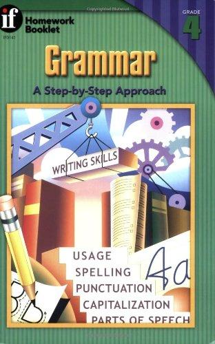 9780880124607: Grammar, A Step-By-Step Approach Homework Booklet, Grade 4 (Homework Booklets)
