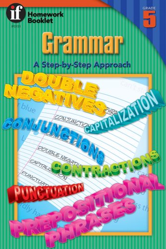 9780880124614: Grammar, A Step-By-Step Approach Homework Booklet, Grade 5 (Homework Booklets)