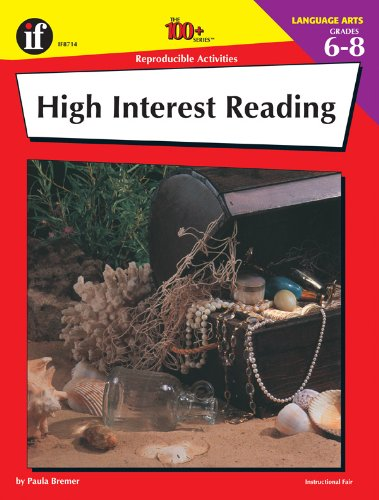 9780880128148: The 100+ Series High Interest Reading, Grades 6-8