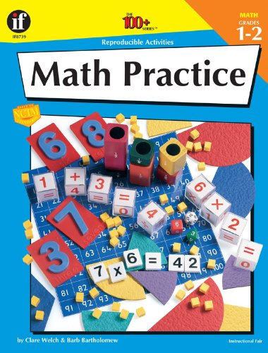 9780880128155: The 100+ Series Math Practice, Grades 1-2