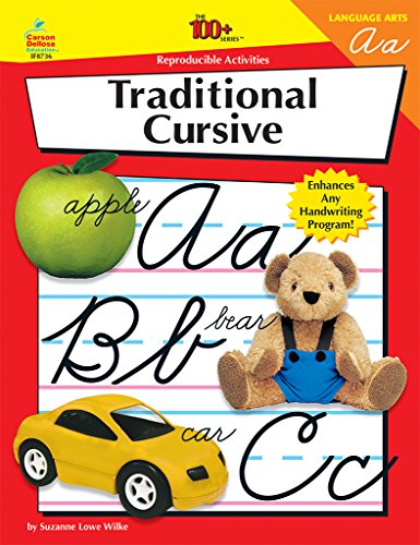 9780880128261: Cursive Writing: 100 Reproducible Activities