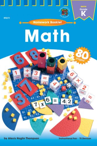 9780880129381: Homework-Math Grade Kindergarten