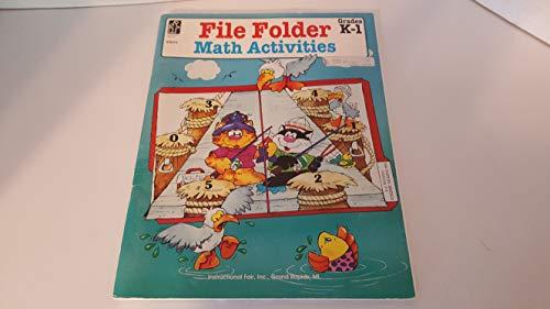 9780880129671: File Folder Math/K-1/ (Is 8572)