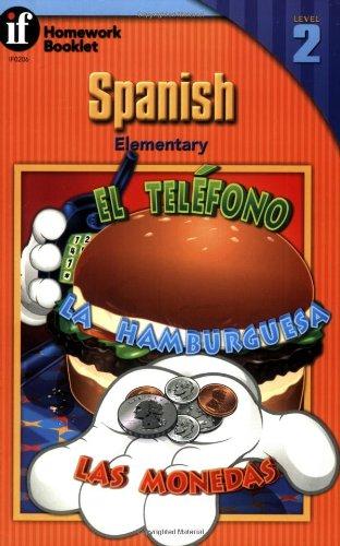 9780880129862: Spanish Homework Booklet, Elementary, Level 2 (Homework Booklets) (Spanish and English Edition)