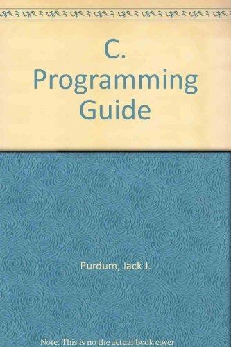 9780880223560: C Programming Guide