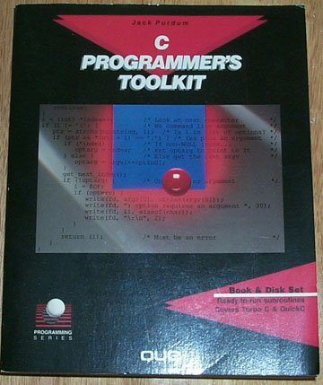 9780880224574: C. Programmer's Toolkit (Programming series)