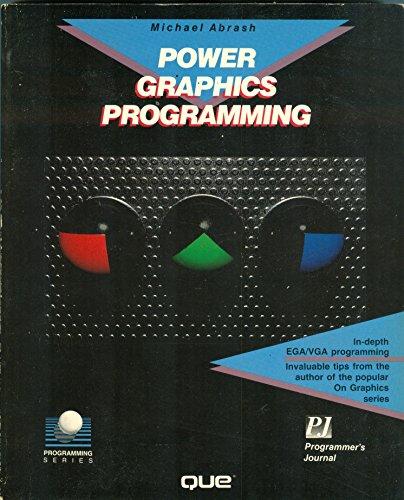 9780880225007: Power Graphics Programming (Programming series)