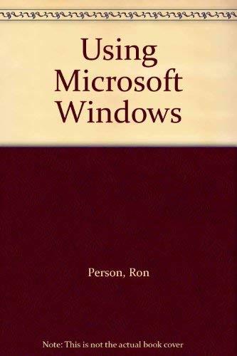 9780880225090: Using Microsoft Windows