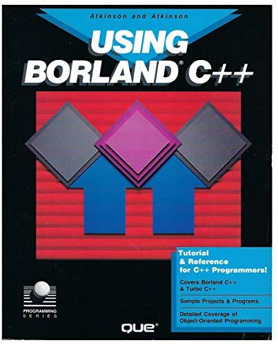 9780880226752: Using Turbo C++: Version 1.0 (Programming series)
