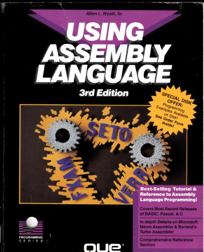 9780880228848: Using Assembly Language (Programming Series)