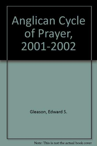 9780880282222: Anglican Cycle of Prayer, 2001-2002