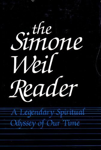 9780880290029: The Simone Weil reader