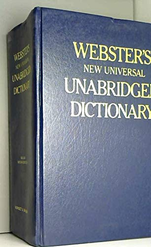 9780880290050: Webster's New Universal Unabridged Dictionary
