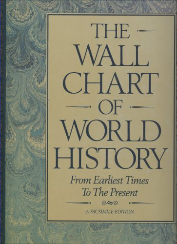 9780880292399: The Wall Chart of World History: From Earliest Times To The Present