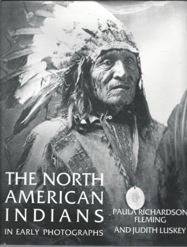 9780880292566: The North American Indians in Early Photographs