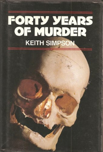 9780880293051: Forty Years of Murder: An Autobiography