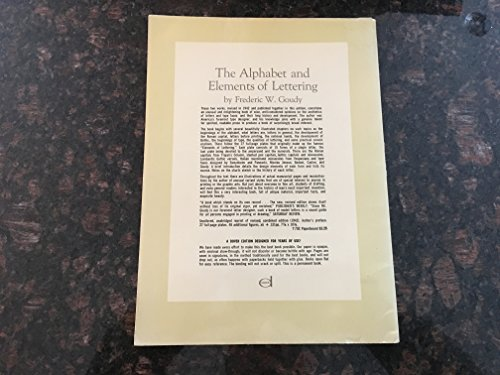 9780880293303: Alphabet and Elements of Lettering