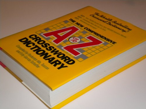 9780880293716: The New Comprehensive A-Z Crossword Dictionary