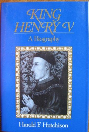 9780880293921: King Henry V: A Biography