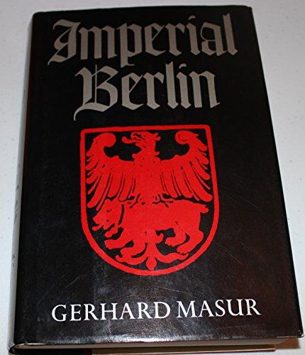9780880294072: Imperial Berlin
